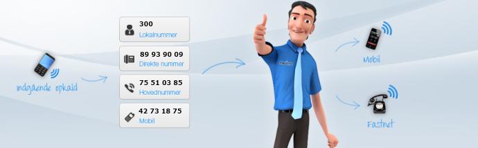 IP-telefoni fra HN Business i samarbejde med Flexfone